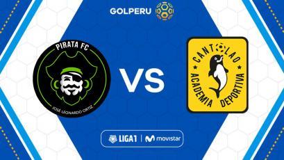 Liga1 Movistar: Pirata FC recibe a la Academia Deportiva Cantolao