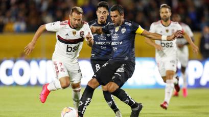 Recopa Sudamericana: Independiente del Valle y Flamengo igualaron a dos en un partidazo (VIDEO)