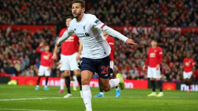 Liverpool rescató un empate de visita frente al Manchester United