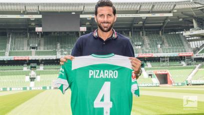 Claudio Pizarro alcanzó un récord más en la Bundesliga