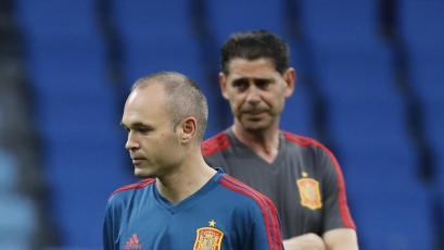 Rusia 2018: Iniesta será suplente frente a Rusia