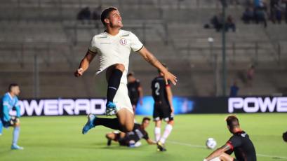Universitario de Deportes venció por 2-1 a Huracán con este gol de Alexander Succar (VIDEO)