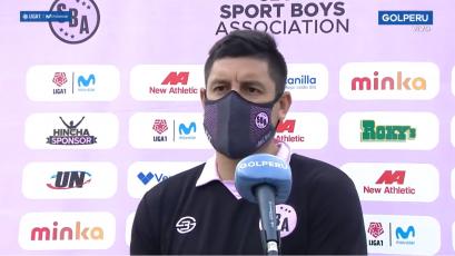 """Luis Hernández sobre Sport Boys: """"Vamos a dar todo para salir de este mal momento"""" (VIDEO)"""