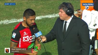 """Joel Sánchez: """"Hicimos un partido muy sacrificado, esperamos tener más suerte en el siguiente"""""""