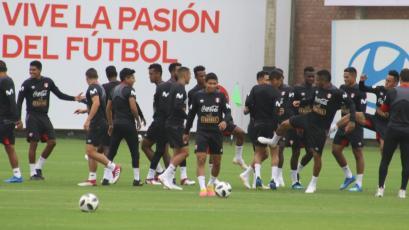Selección Peruana sigue con los trabajos de cara al Mundial