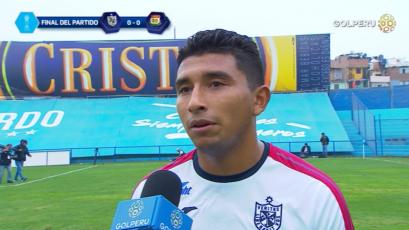 """Edhu Oliva: """"Nos está costando ganar los partidos"""""""