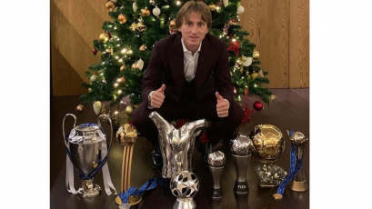 El año mágico de Luka Modric