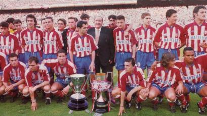 A  24 años del doblete del Atlético de Madrid que terminó con la hegemonía del Barcelona y Real Madrid