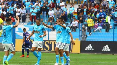 Sporting Cristal goleó a Real Garcilaso y se colocó segundo en el Torneo Clausura (VIDEO)