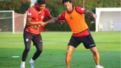 Clasificatorias Sudamericanas: Selección Peruana entrenó con la presencia de Gianluca Lapadula