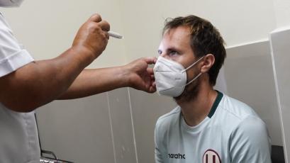 Universitario: Hernán Novick realizó los exámenes médicos con el cuadro crema