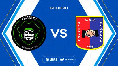 Liga1 Movistar: Pirata FC choca ante Alianza Universidad por la fecha 7 del Torneo Clausura