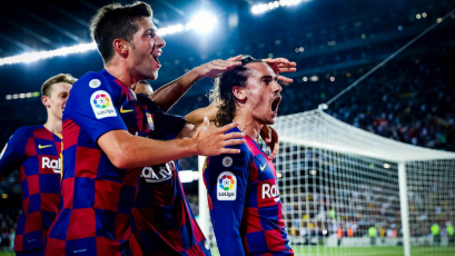 Barcelona superó 5-2 al Betis con dos goles de Antoine Griezmann