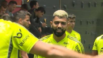 Copa Libertadores: con la alegría de Gabigol, Flamengo sumó su primer entrenamiento en Lima (VIDEO)