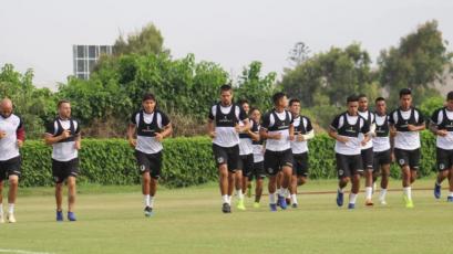 Universitario de Deportes prepara el partido ante Pirata FC