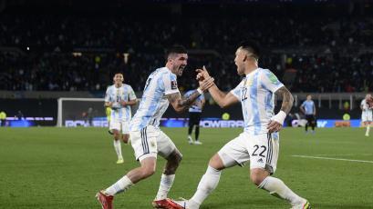 Eliminatorias Sudamericanas: Argentina goleó 3-0 a Uruguay