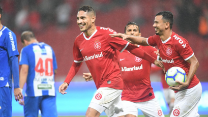 Con Paolo Guerrero, Internacional visita al Paysandu por la Copa de Brasil