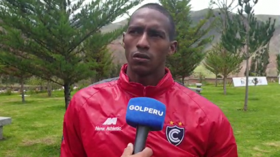 Abdiel Ayarza tras su llegada a Cienciano:
