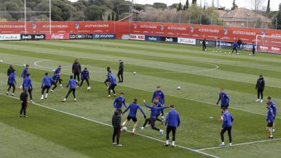 La Liga: el Atlético de Madrid volverá este sábado a los entrenamientos en su centro deportivo