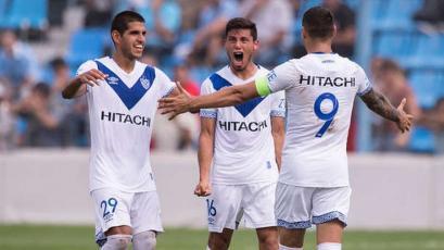Luis Abram cerró la temporada en Argentina goleando con Vélez