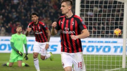 AC Milan goleó 3-0 al Empoli y continúa en zona de Champions League (VIDEO)