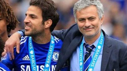 Cesc Fabregas alabó la capacidad de José Mourinho como técnico