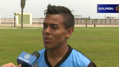 "Sandro Rengifo: ""Queremos llegar a un torneo internacional"""