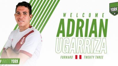 Adrián Ugarriza será el tercer peruano en el fútbol de Canadá tras fichar por el York9
