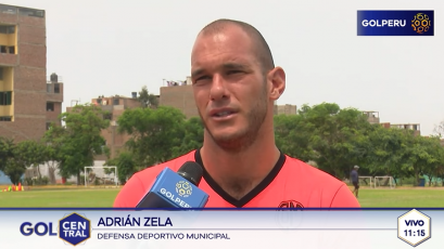 """Adrián Zela: """"Nuestra mente está puesta en Real Garcilaso"""""""
