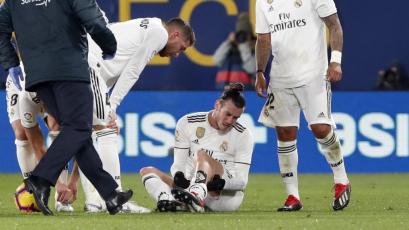 Gareth Bale será baja por 15 días tras lesionarse ante el Villarreal