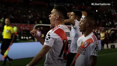 Copa Libertadores: River Plate superó por 2-0 a Boca en el primer clásico de las semifinales (VIDEO)