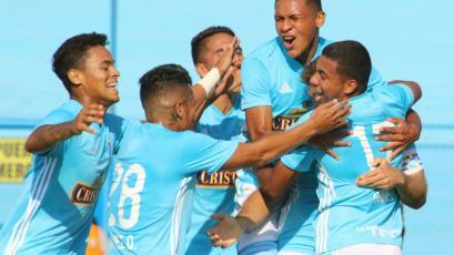 Sporting Cristal, sin sus figuras, goleó 4-1 a San Martín