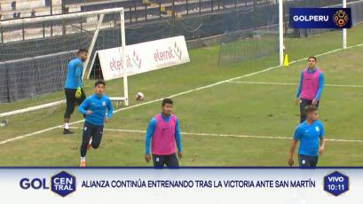 Alianza Lima ya se prepara para el partido ante UTC