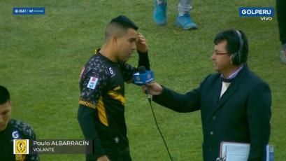 Paulo Albarracín sobre jugar en Juliaca con Binacional: