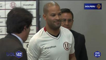 Alberto Rodríguez fue presentado como nuevo refuerzo de Universitario de Deportes