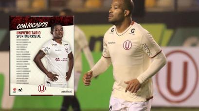 Universitario vs Sporting Cristal: Alberto Rodríguez encabeza la convocatoria crema para el partidazo