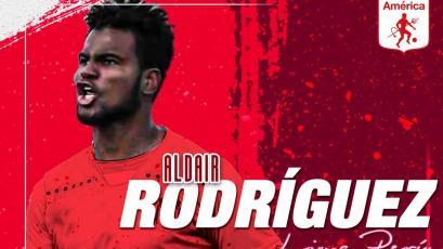 Oficial: Aldair Rodríguez es nuevo fichaje del América de Cali de Colombia