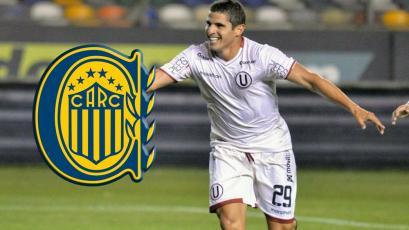 Aldo Corzo podría dejar Universitario para jugar en Rosario Central de Argentina (VIDEO)