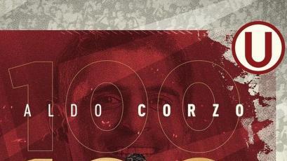 Universitario: Aldo Corzo cumplió 100 partidos defendiendo la camiseta crema