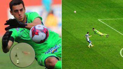 Alejandro Duarte imitó despeje del alemán Manuel Neuer en amistoso con Zacatepec (VIDEO)