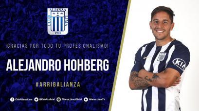 Alianza Lima y su mensaje de despedida para  Alejandro Hohberg