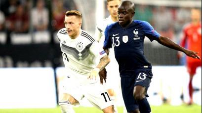Alemania y Francia empataron en la UEFA Liga de Naciones