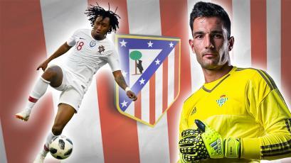 Atlético de Madrid cierra los fichajes de Adán y Gelson Martins