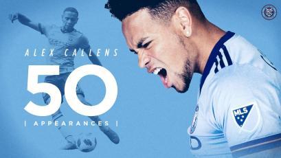 Alexander Callens cumplió 50 partidos en la MLS