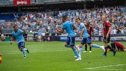 Alexander Callens rescata un punto para New York City FC