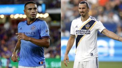 Major League Soccer: Alexander Callens junto a Zlatan Ibrahimovic en el 11 ideal de la fecha (VIDEO)