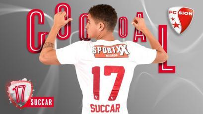 Alexander Succar marca su primer gol en la Superliga Suiza
