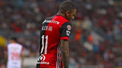 Alexi Gómez ya no es más jugador de Atlas