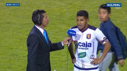 Alexis Arias tras el empate de FBC Melgar: