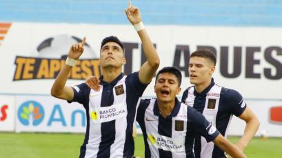 Alianza Lima: José Manzaneda anotó el primer gol blanquiazul en la Liga1 Betsson (VIDEO)